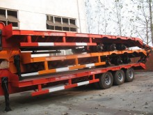 Cimc iron carrier flatbed trailer