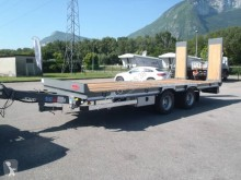 Castera heavy equipment transport trailer TPCB 15 DISPO Porte-engins 2 essieux plateau basculant