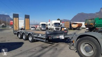 Reboque porta máquinas Castera TPCB 25 DISPO Remorque porte-engins 3 essieux plateau basculant