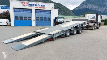 Remorque plateau Castera TPCB 25 DISPO Remorque plateau basculant 3 essieux porte-engins