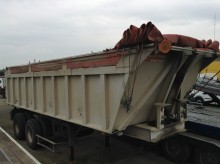 Benalu DF33C1 trailer used construction dump