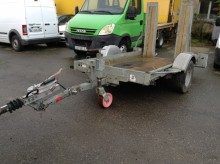 Ecim E 180 AF 18 trailer used heavy equipment transport