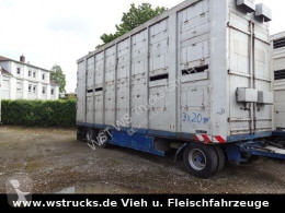 Menke 2 Stock Spindel trailer used livestock trailer