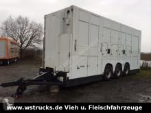 Přívěs Menke Tridem Doppelstock přívěs pro přepravu dobytka použitý