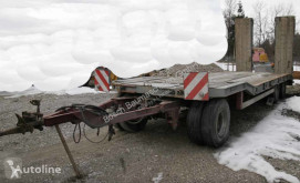 Goldhofer heavy equipment transport trailer TU3-24/80