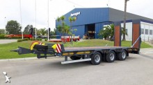 Invepe heavy equipment transport trailer 3 essieux centraux