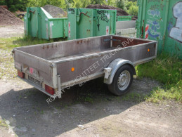 Anh Pritsche TREBBINER FAHRZEUGWERK, 1.500 kg trailer used heavy equipment transport