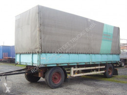 Krone AZP 11 trailer used tarp