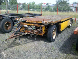 Kögel AWE 18 trailer used flatbed
