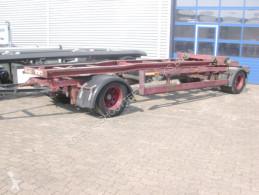 Remorca transport containere HWT 18ZRL/1S EGGERS 2-A-Abrollanhänger, 7,5m Cont. Schlitten