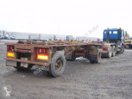 T/A Rolloff trailer used container