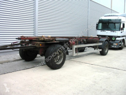Krone AZW 18 trailer used container