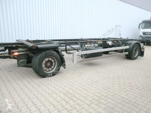 Voir les photos Remorque Schmitz Cargobull - AWF 18 AWF 18, für Mega-Brücken