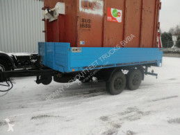 TA 8 GOEBEL & SOHN TA8 trailer used flatbed