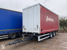 Samro 3EJES trailer used tautliner