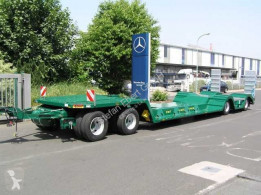 Heavy equipment transport trailer Ebert TL 40 ST Spezialtieflader