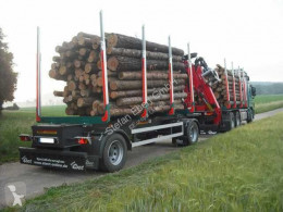 Ebert KHA 18 Kurzholz-Anhänger NEU trailer new timber