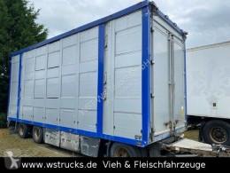 Aanhanger Menke Menke 3 Stock Ausahrbares Dach Vollalu Typ 2 tweedehands vee aanhanger