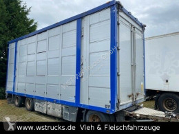 Aanhanger vee aanhanger Menke Menke 3 Stock Ausahrbares Dach Vollalu Typ 2