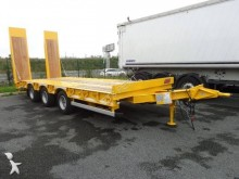 Castera heavy equipment transport trailer TPCB 25 Plateau Fixe 3 essieux Centraux