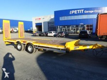 Castera heavy equipment transport trailer TPCB 15 Plateau Basculant 2 essieux Centraux