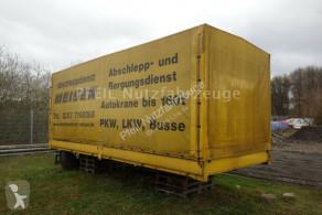 Tarp trailer Planenaufbau-Ladeboedwand DAUTEL