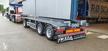 Lecitrailer Porte Caissons 26T - 3 Essieux - Pistes Larges trailer new hook arm system