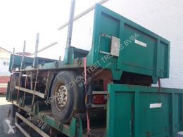 Flatbed trailer Anhänger Plateau Anhänger Pritsche Plateau, Rungen, 3x vorh. !