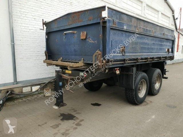 Ver as fotos Reboque Schmitz Cargobull ZKI 18  18 Alubordwände abklappar-pendelnd