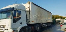 Legras trailer used tipper