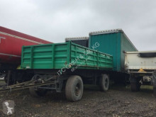 Used three-way side trailer Langendorf Kipper RTDK 18 2-Seitenkipper Deutsches Fahrzeug