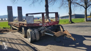 Langendorf ATU4-40 Tieflader mit Rampen German Fahrzeug trailer used heavy equipment transport
