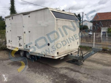JCR - vestiaire - WC trailer used flatbed