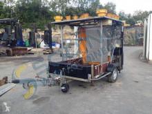 REMORQUE PANNEAUX SECURITÉ trailer used flatbed