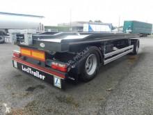 Lecitrailer porte caisson plateau basculant, verrouillage hydraulique trailer new hook arm system