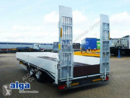Heavy equipment transport trailer ALGA TAT-B 110, Tandem,Rampen,Stirnwand klappbar
