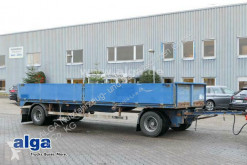 Renders heavy equipment transport trailer 2-Achser, 6,85 m. lang, flach, Alu-Bordwände!