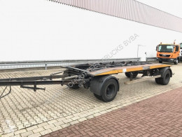 Släp Langendorf PC 14/80-2 PC 1/80- Abrollanhänger containertransport begagnad