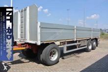 Zorzi rimorchio cassonato 3 assi sponde usato trailer used dropside flatbed