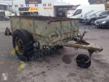 REMORQUE trailer used flatbed