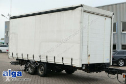 NSD TPS, Tandem, 10,5to., Gardine, 6.200mm lang trailer used tarp