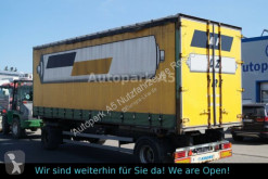 Reboque caixa aberta com lona Krone Anhänger F.ATL 20 Pritsche + Plane