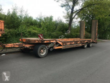 Müller-Mitteltal heavy equipment transport trailer Tieflader 3 Achser mit Rampen German