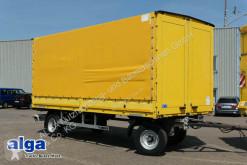 Tarp trailer SCHUTZ LA 100, 10 t., 6,3 m. lang, Türen, Luft