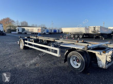 Remolque Fliegl ZWP 180 Jumbo Lafette chasis usado
