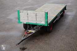 Cuppers Drawbar Trailer / Drum brakes trailer used flatbed