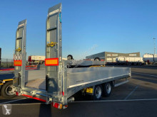 Humbaur heavy equipment transport trailer HBT 106224 - NEUVE - 2 rampes - Disponible sur parc