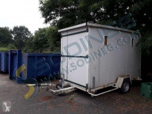 REMORQUE ABRI DE CHANTIER trailer used flatbed
