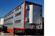 přívěs vůz pro přepravu dobytka Pezzaioli