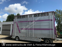 Remorca Pezzaioli RBA 20 3 Stock Hubdach Alufelgen Top transport animale second-hand